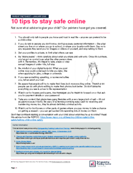 All – 10_tips_to_help_your_child_stay_safe_online_-_parent_factsheet